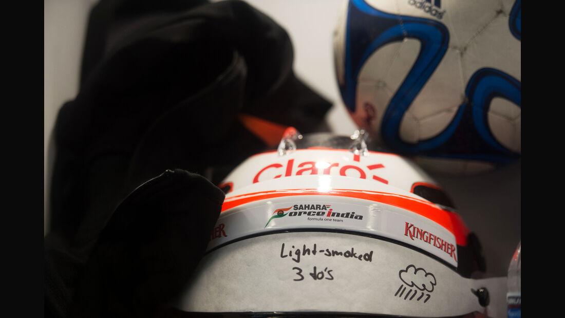 Nico Hülkenberg - Force India - Formel 1 - GP USA - Austin - Formel 1 - 24. Oktober 2015