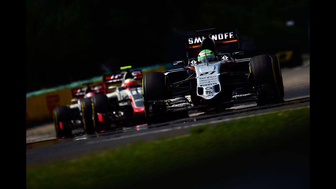Nico Hülkenberg - Force India - Formel 1 - GP Ungarn - 24. Juli 2016
