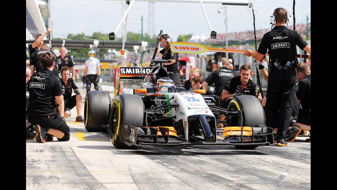 Nico Hülkenberg - Force India - Formel 1 - GP Ungarn - 25. Juli 2014