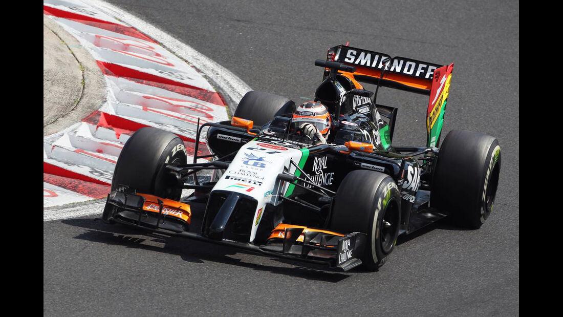 Nico Hülkenberg - Force India - Formel 1 - GP Ungarn - 26. Juli 2014