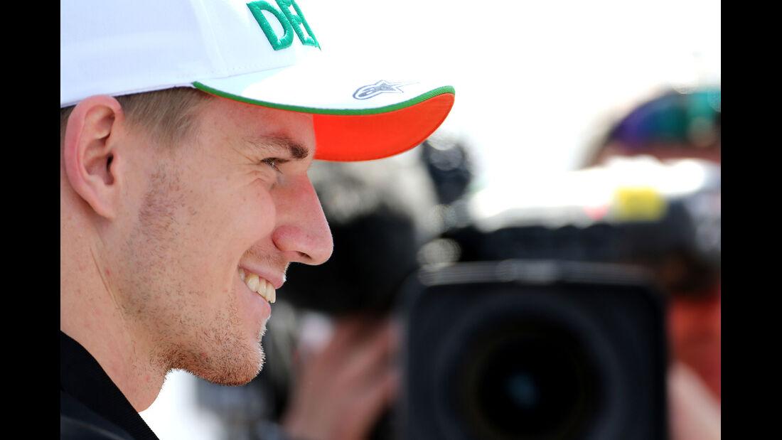 Nico Hülkenberg - Force India - Formel 1 - GP Ungarn - Budapest - 24. Juli 2014