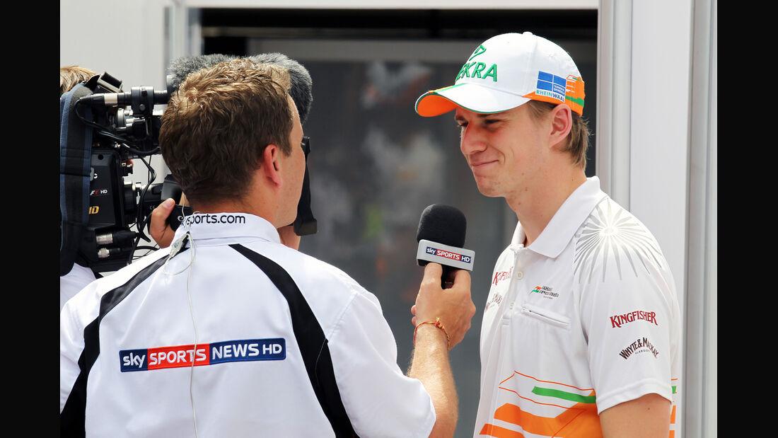 Nico Hülkenberg - Force India - Formel 1 - GP Ungarn - Budapest - 26. Juli 2012