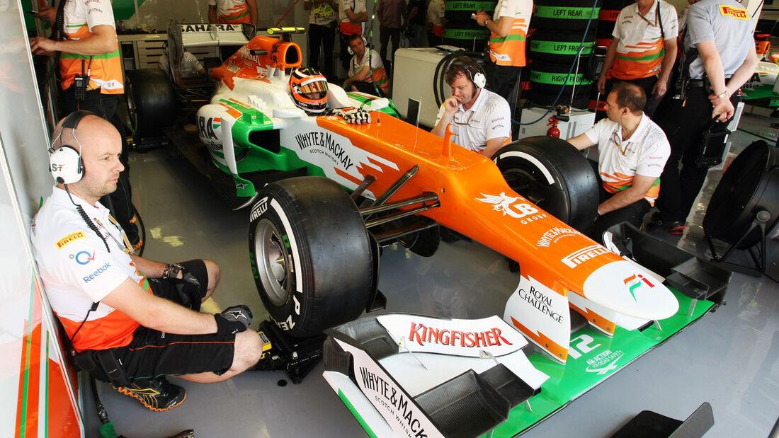 Nico Hülkenberg - Force India - Formel 1 - GP Ungarn - Budapest - 28. Juli 2012
