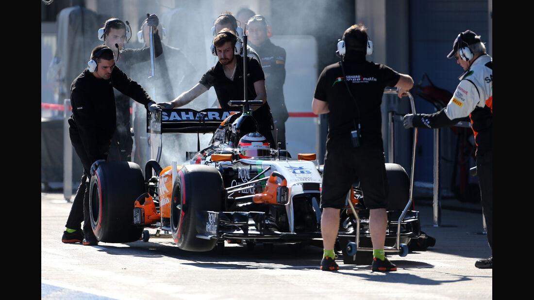 Nico Hülkenberg - Force India - Formel 1 - Jerez - Test - 30. Januar
