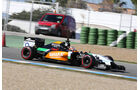 Nico Hülkenberg - Force India - Formel 1 - Jerez - Test - 30. Januar