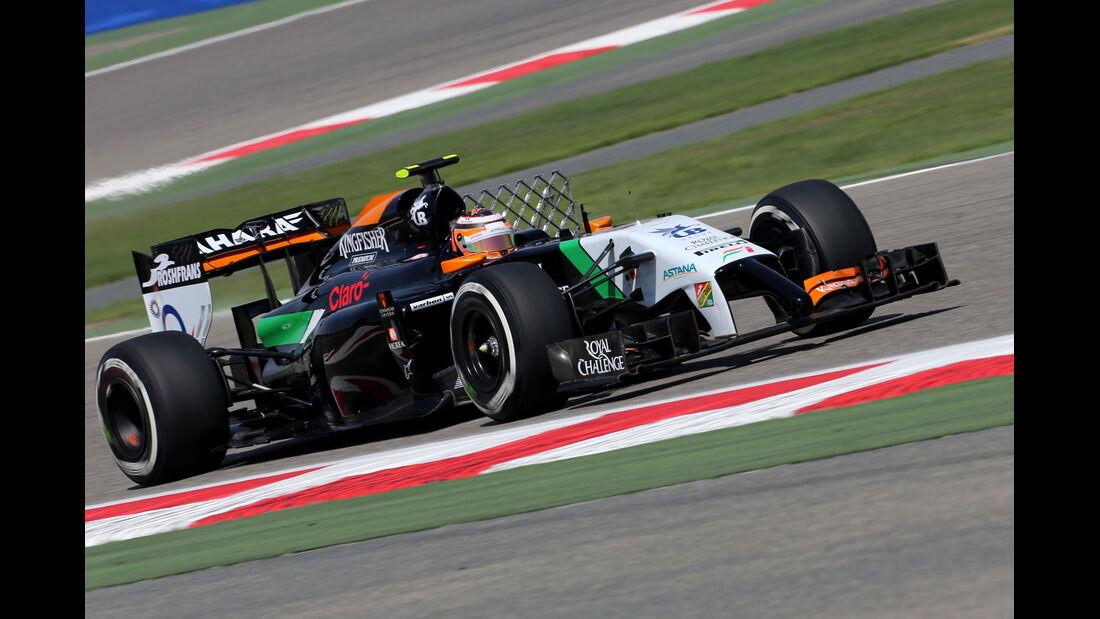 Nico Hülkenberg - Force India - Formel 1 - Test 1 - GP Bahrain 2014