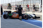 Nico Hülkenberg - Force India - Formel 1 - Test - Bahrain - 1. März 2014