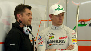 Nico Hülkenberg - Force India - Formel 1 - Test - Bahrain - 19. Februar 2014