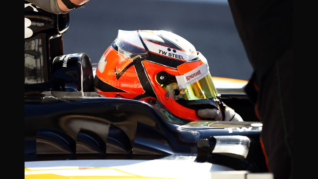 Nico Hülkenberg - Force India - Formel 1 - Test - Bahrain - 2. März 2014