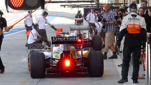 Nico Hülkenberg - Force India - Formel 1 - Test - Bahrain - 20. Februar 2014