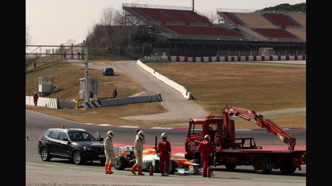 Nico Hülkenberg - Force India - Formel 1-Test - Barcelona - 2012