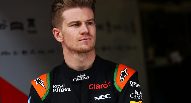 Nico Hülkenberg - Force India - Formel 1-Test - Barcelona - 21. Februar 2015