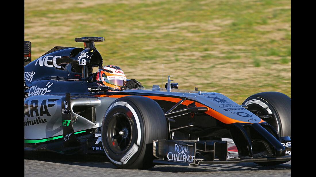Nico Hülkenberg - Force India - Formel 1-Test - Barcelona - 22. Februar 2015
