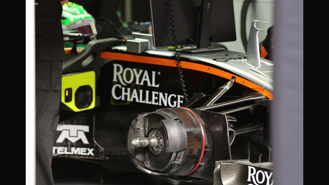 Nico Hülkenberg - Force India - Formel 1-Test - Barcelona - 24. Februar 2016