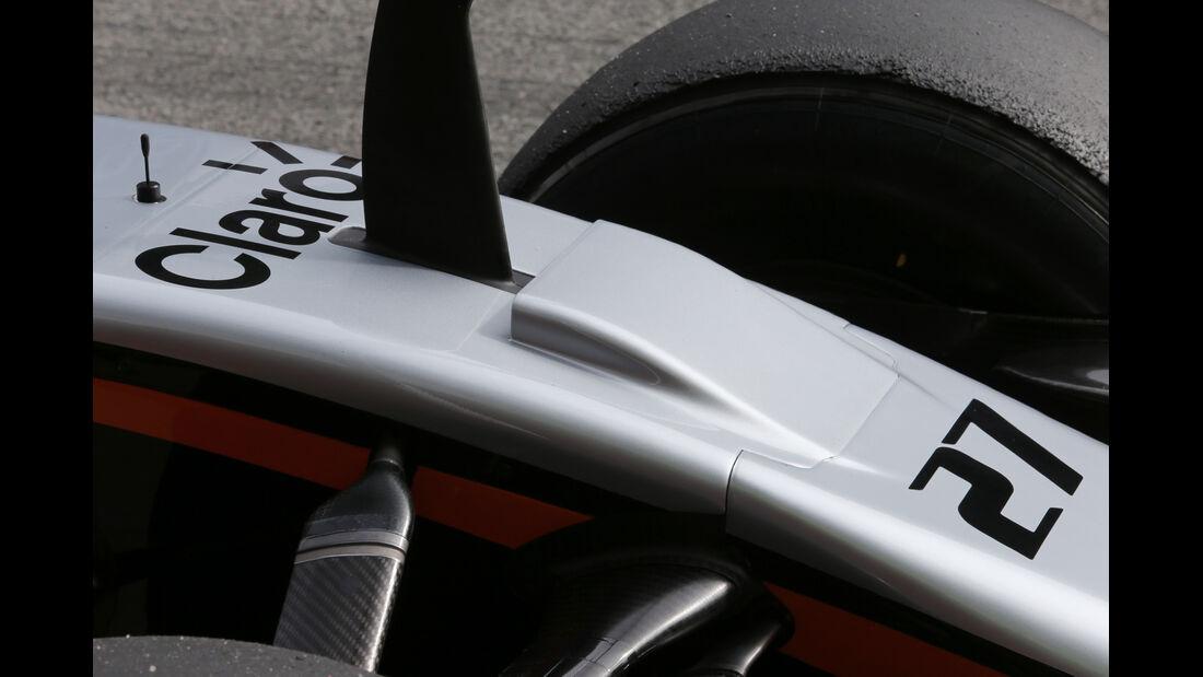 Nico Hülkenberg - Force India - Formel 1-Test - Barcelona - 27. Februar 2015