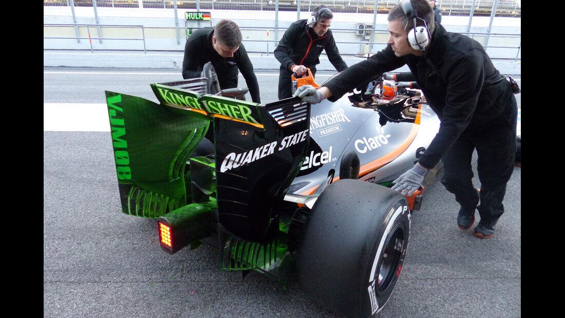 Nico Hülkenberg - Force India - Formel 1-Test - Barcelona - 28. Februar 2015