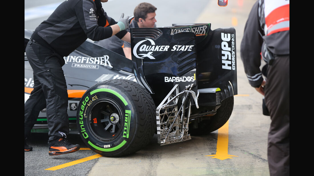 Nico Hülkenberg - Force India - Formel 1-Test - Barcelona - 3. März 2016
