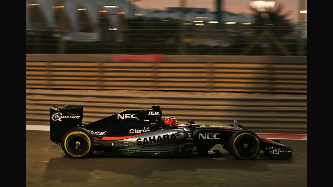 Nico Hülkenberg - Force India - GP Abu Dhabi 2015
