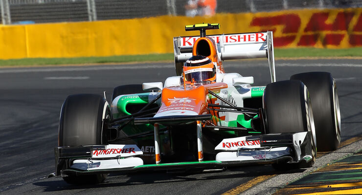 Nico Hülkenberg Force India GP Australien 2012