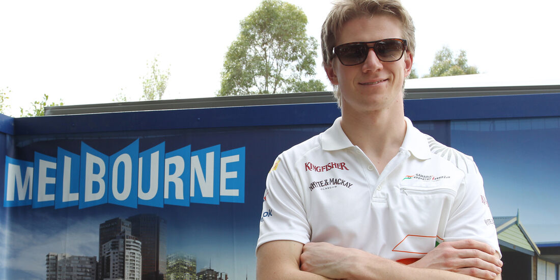 Nico Hülkenberg Force India GP Australien 2012