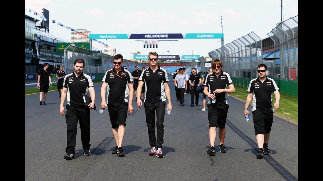Nico Hülkenberg - Force India - GP Australien - Melbourne - 16. März 2016