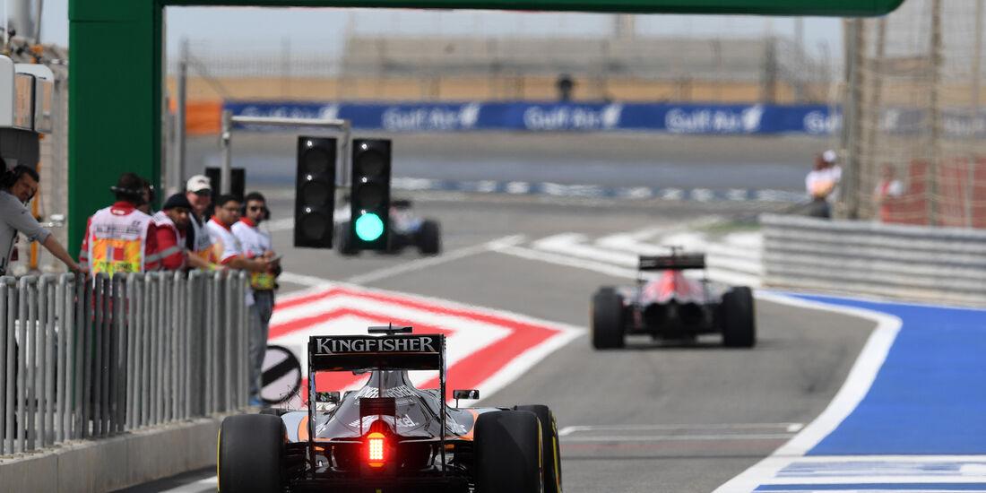 Nico Hülkenberg - Force India - GP Bahrain - Formel 1 - 1. April 2016