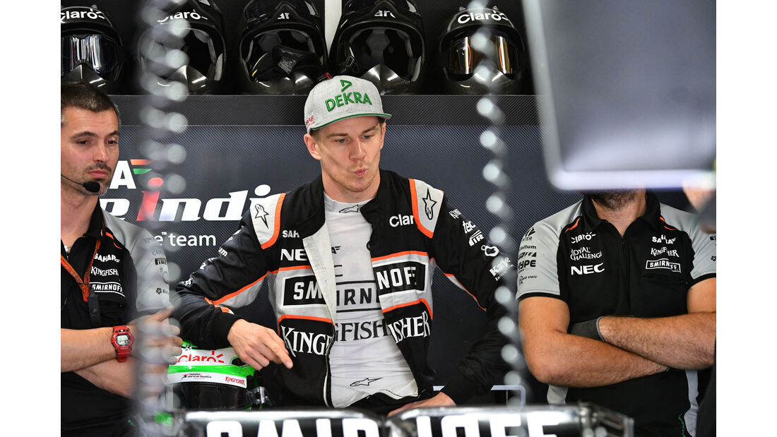 Nico Hülkenberg - Force India - GP Brasilien 2016 - Interlagos - Qualifying