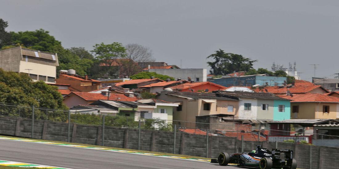 Nico Hülkenberg - Force India - GP Brasilien - Interlagos - Freitag - 11.11.2016