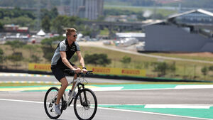 Nico Hülkenberg - Force India - GP Brasilien - Sao Paulo - Interlagos - Donnerstag - 10.11.2016