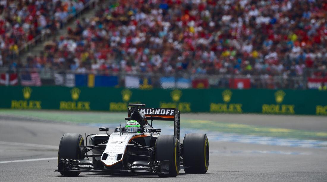 Nico Hülkenberg - Force India - GP Deutschland 2016 - Hockenheim