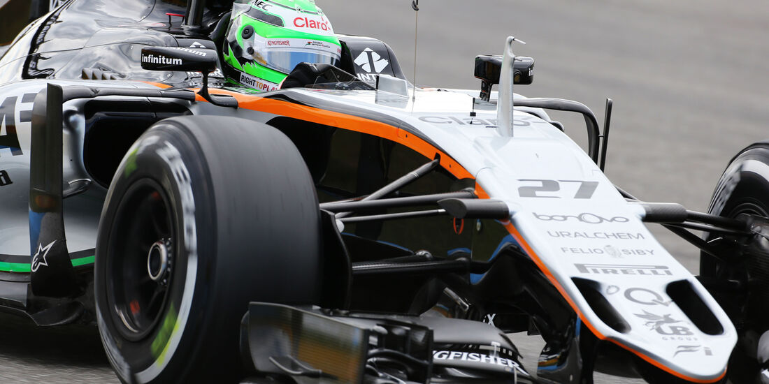 Nico Hülkenberg - Force India - GP Deutschland - Formel 1 - 29. Juli 2016