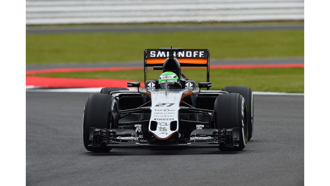 Nico Hülkenberg - Force India -  GP England - Silverstone - Formel 1 - Freitag - 8.7.2016 GP England - Silverstone - Formel 1 - Freitag - 8.7.2016