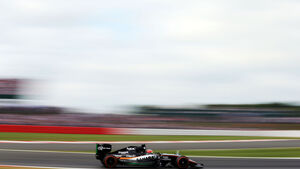Nico Hülkenberg - Force India - GP England - Silverstone - Qualifying - Samstag - 4.7.2015