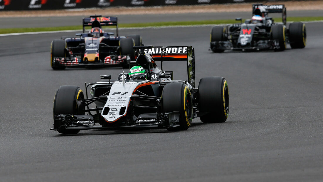 Nico Hülkenberg - Force India - GP England - Silverstone - Qualifying - Samstag - 9.7.2016