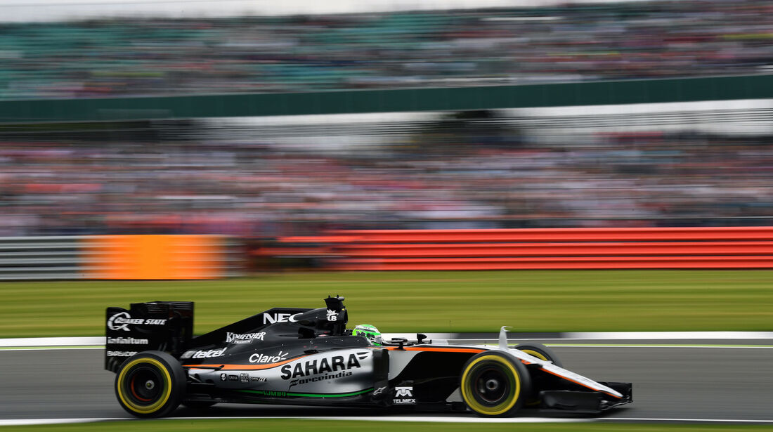 Nico Hülkenberg - Force India - GP England - Silverstone - Qualifying - Samstag - 9.7.2016