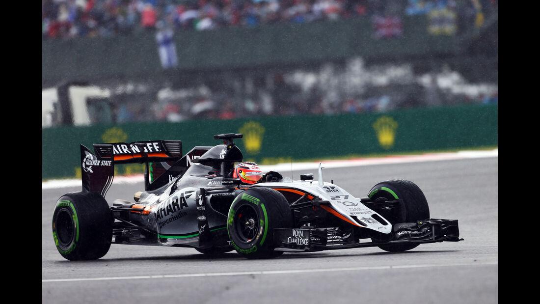 Nico Hülkenberg - Force India - GP England - Silverstone - Rennen - Sonntag - 5.7.2015