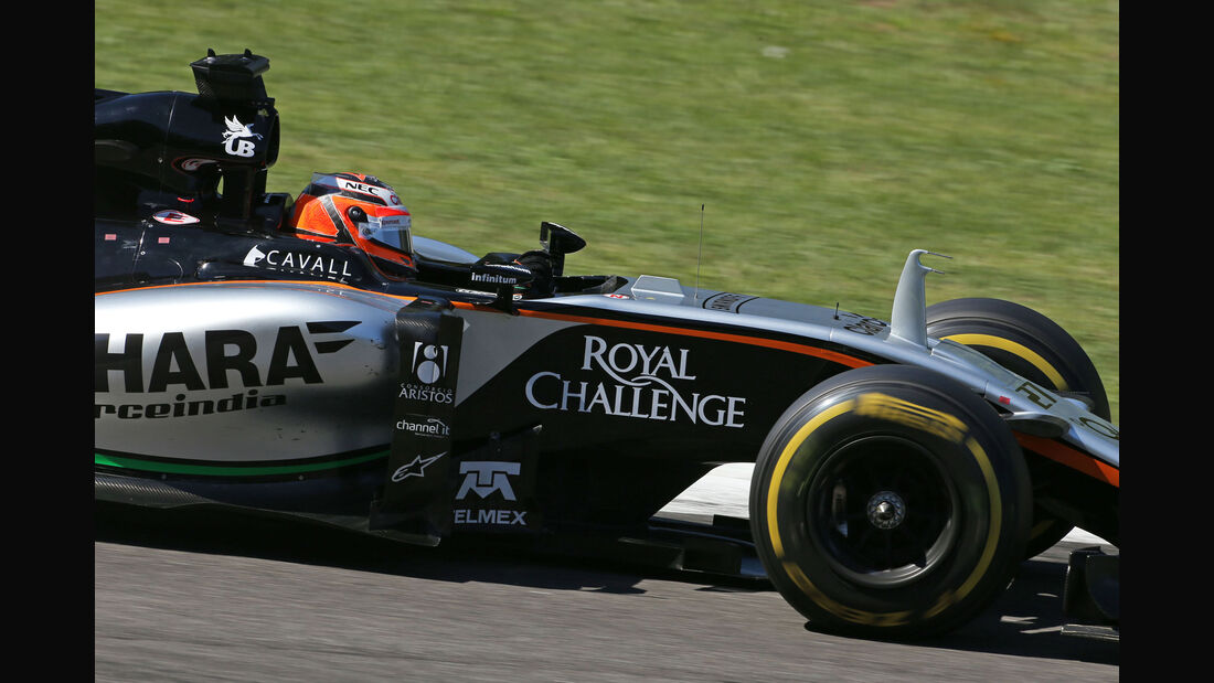 Nico Hülkenberg - Force India - GP Italien 2015 - Monza