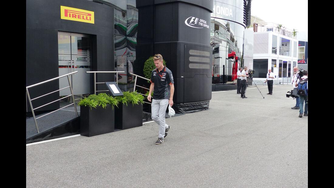 Nico Hülkenberg - Force India - GP Italien - Monza - Donnerstag - 3.9.2015