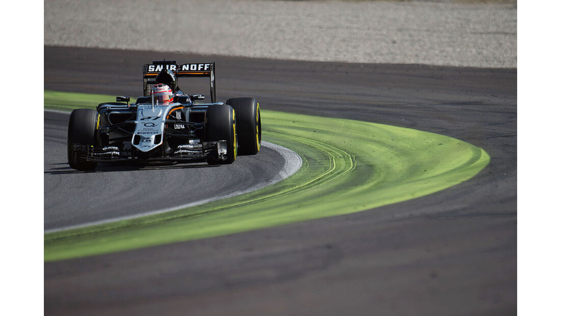 Nico Hülkenberg - Force India - GP Italien - Monza - Qualifying - 5.9.2015