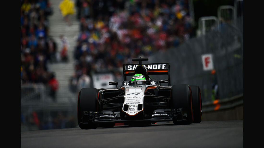 Nico Hülkenberg - Force India - GP Kanada 2016 - Montreal - Qualifying