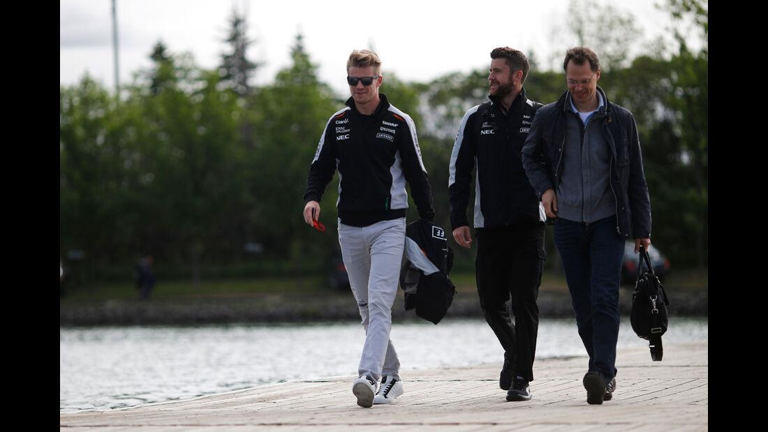 Nico Hülkenberg - Force India - GP Kanada - Montreal - Freitag - 10.6.2016