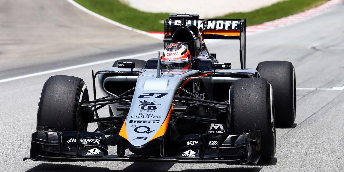 Nico Hülkenberg - Force India - GP Malaysia 2015
