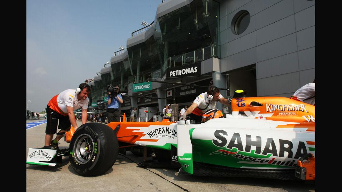 Nico Hülkenberg - Force India - GP Malaysia - Training - 23. März 2012