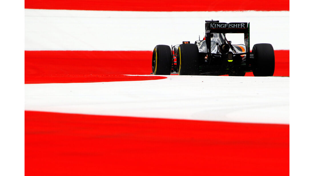 Nico Hülkenberg - Force India - GP Österreich - Formel 1 - Freitag - 19.6.2015