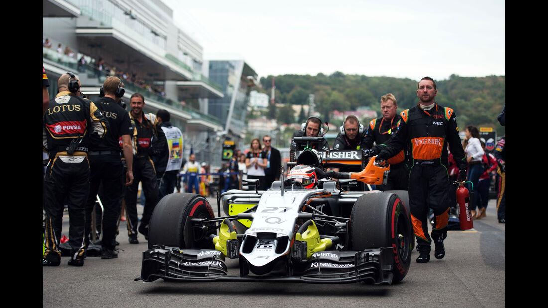 Nico Hülkenberg - Force India - GP Russland 2015 - Sochi - Rennen