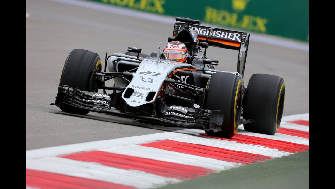 Nico Hülkenberg - Force India - GP Russland - Sochi - Freitag - 9.10.2015