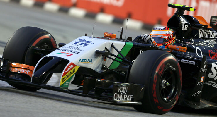 Nico Hülkenberg - Force India - GP Singapur 2014