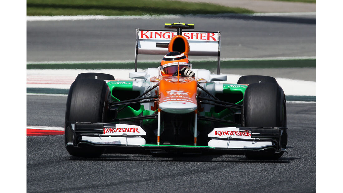 Nico Hülkenberg - Force India - GP Spanien - 12. Mai 2012