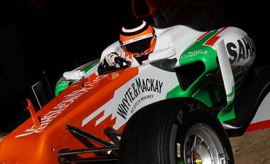Nico Hülkenberg Force India GP Spanien 2012