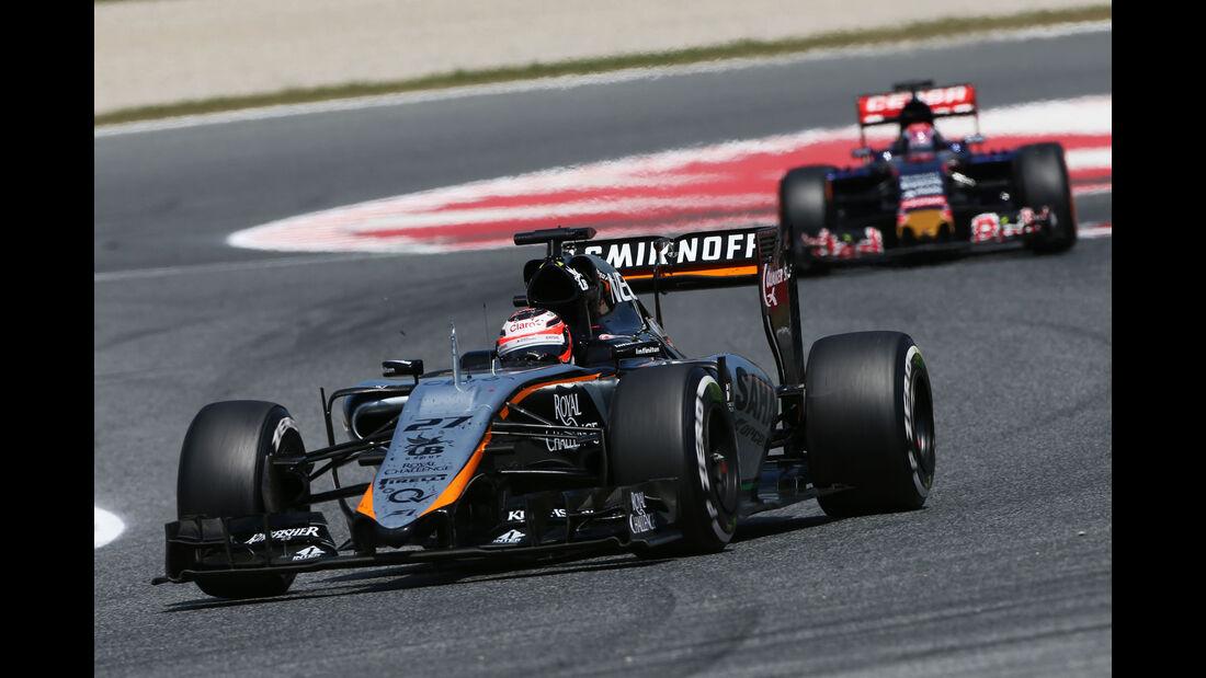 Nico Hülkenberg - Force India - GP Spanien 2015 - Rennen - Sonntag - 10.5.2015